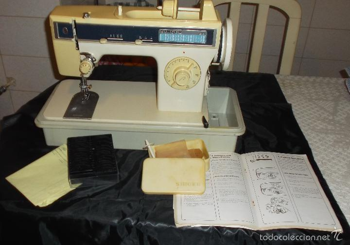 Antigüedades: maquina de coser singer modelo 1288 año 1994 - Foto 4 - 57630341