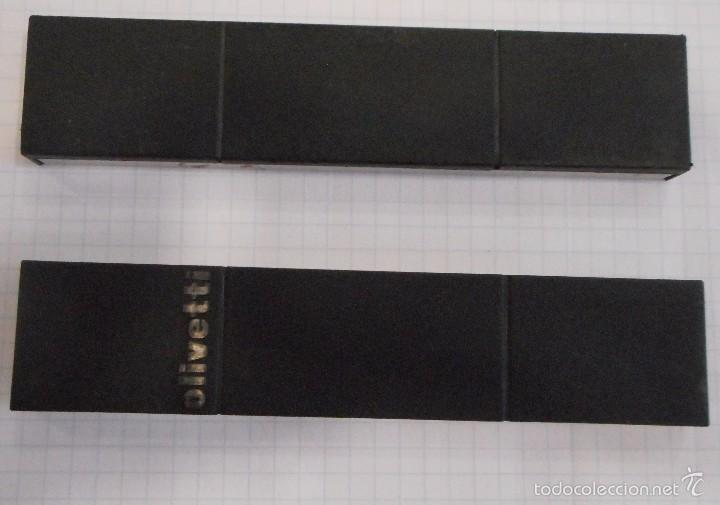 CAJAS DE ACCESORIOS DE MÁQUINA DE ESCRIBIR OLIVETTI (Antigüedades - Técnicas - Máquinas de Escribir Antiguas - Olivetti)