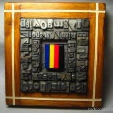 Antigüedades: IMPRENTA - CUADRO TIPOGRAFICO SELECCION DE COLOR - MODELO 3 VERTICALES. Lote 57679941