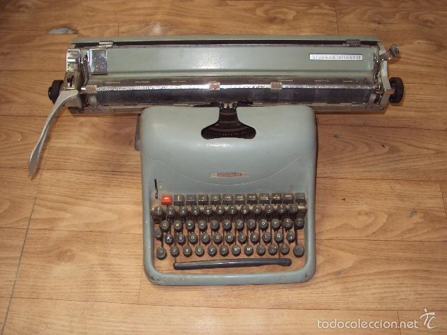 MÁQUINA DE ESCRIBIR HISPANO OLIVETTI (Antigüedades - Técnicas - Máquinas de Escribir Antiguas - Olivetti)