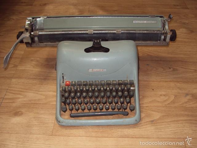 Antigüedades: Máquina de escribir Hispano Olivetti - Foto 3 - 57701003