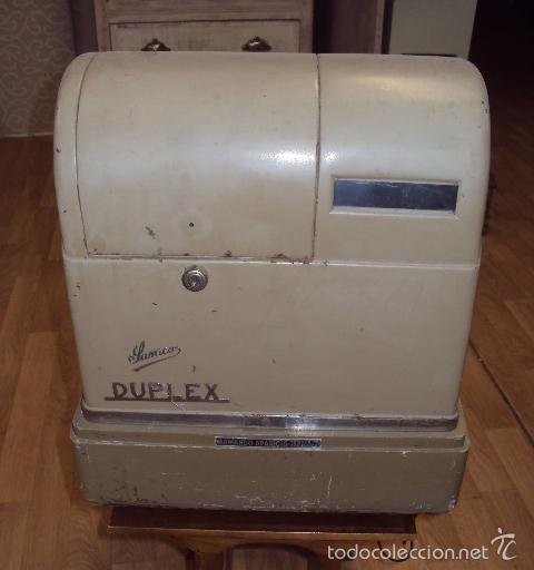 Antigüedades: Caja registradora antigua - Foto 2 - 57701210