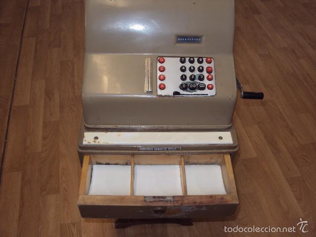 Antigüedades: Caja registradora antigua - Foto 3 - 57701210
