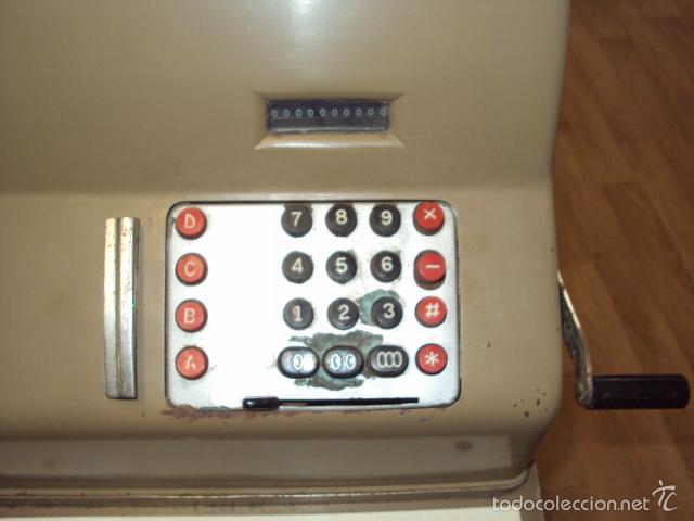 Antigüedades: Caja registradora antigua - Foto 6 - 57701210