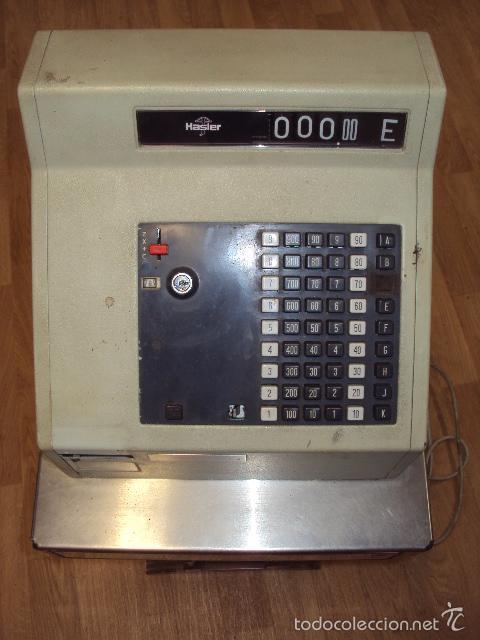 Antigüedades: Caja registradora antigua - Foto 2 - 57701325