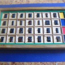Antigüedades: IMPRENTA, CAJA ABECEDARIO MADERA - MODELO 1. Lote 57703655