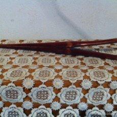 Antigüedades: PINZA DE MADERA MUY RARA. Lote 57710836