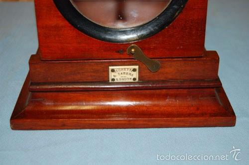 Antigüedades: VISOR DE MESA ESTEROSCÓPICO DE SOBREMESA EN MADERA DE CAOBA - Foto 2 - 57774617