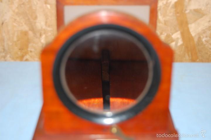 Antigüedades: VISOR DE MESA ESTEROSCÓPICO DE SOBREMESA EN MADERA DE CAOBA - Foto 4 - 57774617
