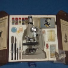 Antigüedades: VIEWER/PHOTOGRAPHY MICROSCOPE KIT. Lote 57329878