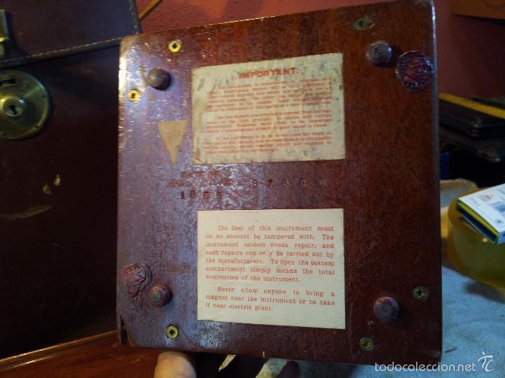 Antigüedades: ZAHORI BUSCADOR AGUA SUBTERRANEA MANSFIELD WATER FINDER LIVERPOOL ENGLAND 1909 - Foto 28 - 57857821