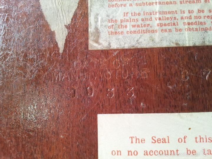 Antigüedades: ZAHORI BUSCADOR AGUA SUBTERRANEA MANSFIELD WATER FINDER LIVERPOOL ENGLAND 1909 - Foto 33 - 57857821