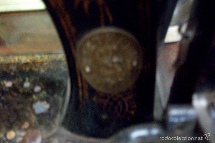 Antigüedades: ANTIGUA MAQUINA DE COSER WERTHEIM- ELECTRA - Foto 13 - 38855717