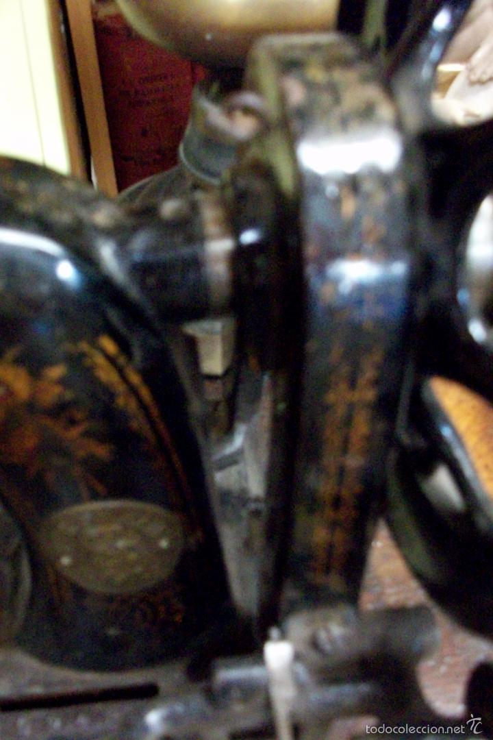 Antigüedades: ANTIGUA MAQUINA DE COSER WERTHEIM- ELECTRA - Foto 14 - 38855717