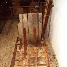 Antigüedades: BÁSCULA DE CEREAL GRANDE 500 KILOS. Lote 57884915