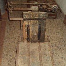 Antigüedades: BÁSCULA DE CEREAL.. Lote 57884971