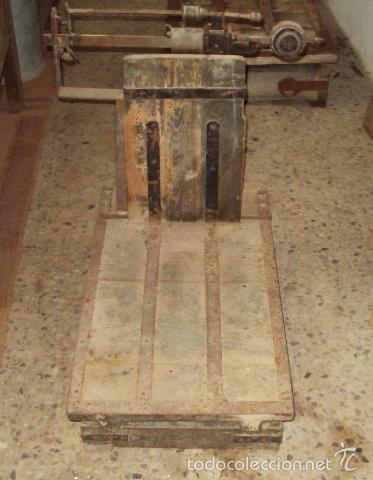 Antigüedades: Báscula de cereal. - Foto 2 - 57884971