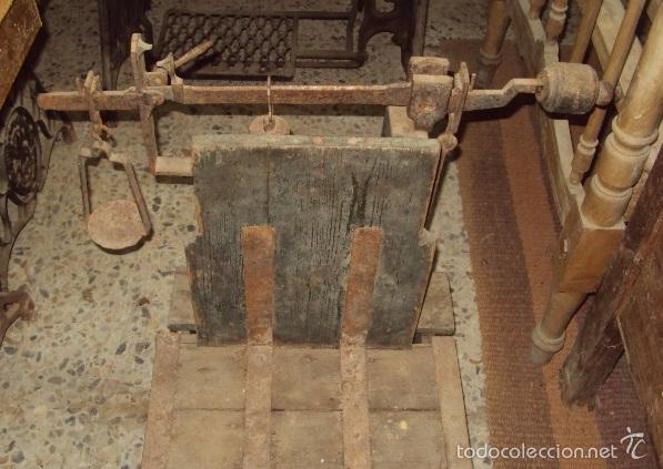 Antigüedades: Báscula de cereal. - Foto 2 - 57885047