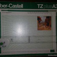 Antigüedades: TABLA DE DIBUJO TÉCNICO FABER CASTELL TZ PLUS A3. Lote 57904181