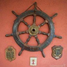 Antigüedades: RUEDA DE TIMON DE BARCO.. Lote 57918018