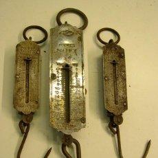 Antiquités: LOTE DE 3 ANTIGUOS PESOS DIFERENTES. Lote 178067995