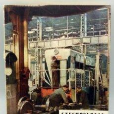 Antigüedades: REVISTA INDUSTRIA CHECOSLOVAQUIA CZECHOSLOVAK FOREIGN TRADE Nº 2 1955 EN INGLÉS PUBLICIDAD ´ÉPOCA. Lote 57991626