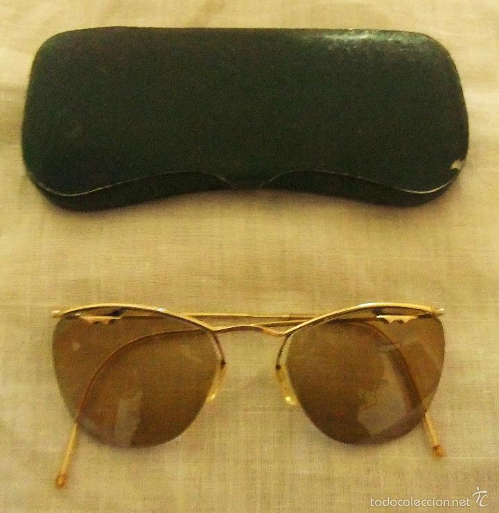 gafas de sol marca amor con montura de oro añ - Comprar Gafas ...