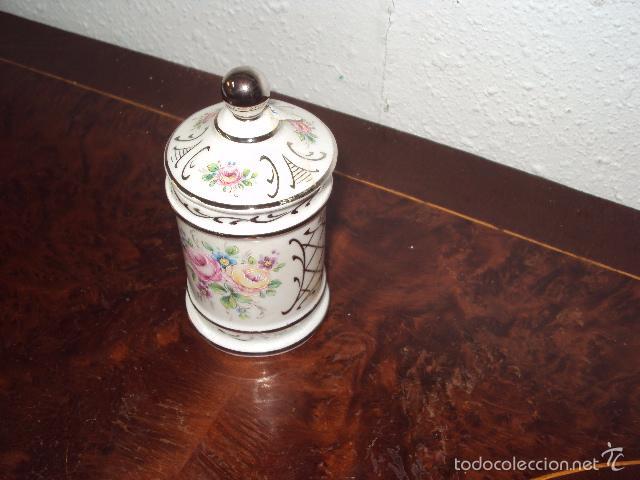 Antigüedades: Pequeño bote de farmacia - Foto 2 - 58108774