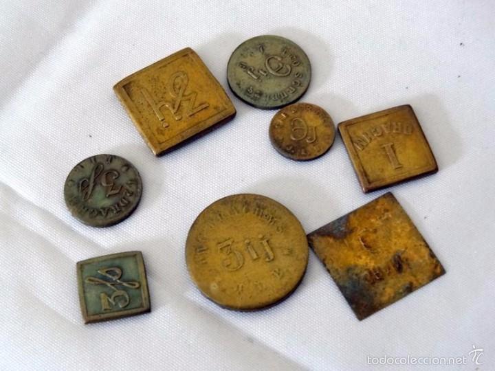 Antigüedades: balanza farmaceutica - Foto 4 - 58119072