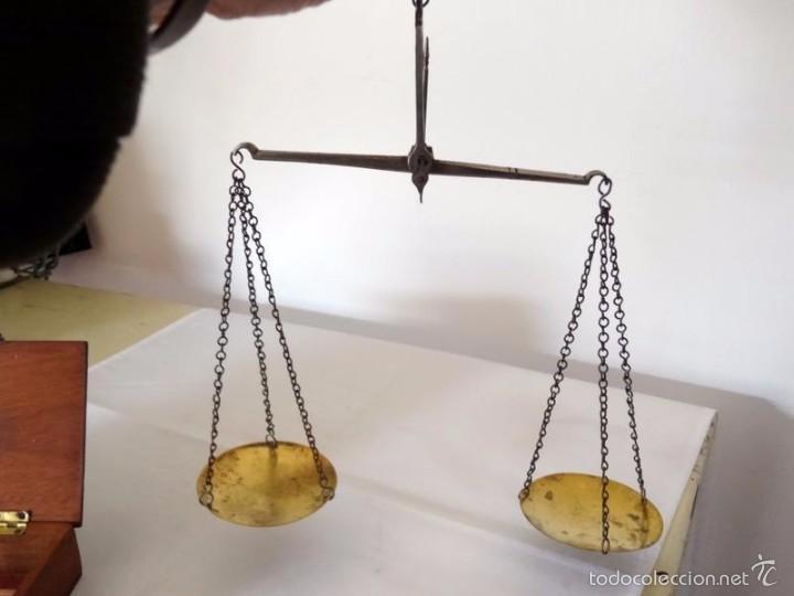 Antigüedades: balanza farmaceutica - Foto 6 - 58119072