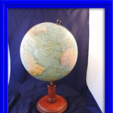 Antigüedades: GLOBO TERRAQUEO BOLA DEL MUNDO ART DECO. Lote 58131894