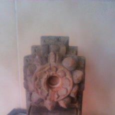Antigüedades: ANTIQUISIMO ADORNO PARA TECHO DE MADERA TALLADA A MANO,HINDÚ SIGLO XVIII/XIX.PIEZA UNICA. Lote 58191496