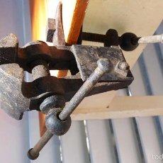 Antigüedades: TORNILLO DE BANCO O DE APRIETE AÑOS 20. Lote 58193366