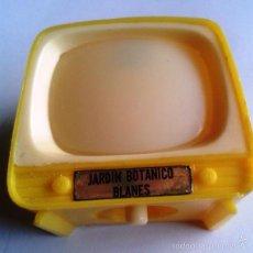 Antigüedades: TELEVISOR VISOR FOTOS MINIATURA. DIAPOSITIVAS. RECUERDO JARDIN BOTANICO. BLANES. GERONA. AÑOS 70-80.. Lote 58199429