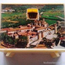 Antigüedades: TELEVISOR VISOR FOTOS MINIATURA. DIAPOSITIVAS RECUERDO DE LA ABADIA DE POBLET. TARRAGONA. AÑOS 70-80. Lote 58200139
