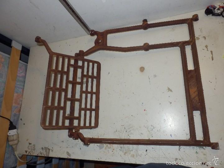 Antigüedades: pie de hierro fundido para maquina de coser sigma - Foto 4 - 58213723