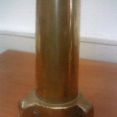 Antiquitäten - LOTE DE ANTIGUAS LANZAS/BOCAS DE MANGUERA BOMBEROS EN BRONCE + GRIFO, BOQUILLAS Y ADAPTADORES - 58215180