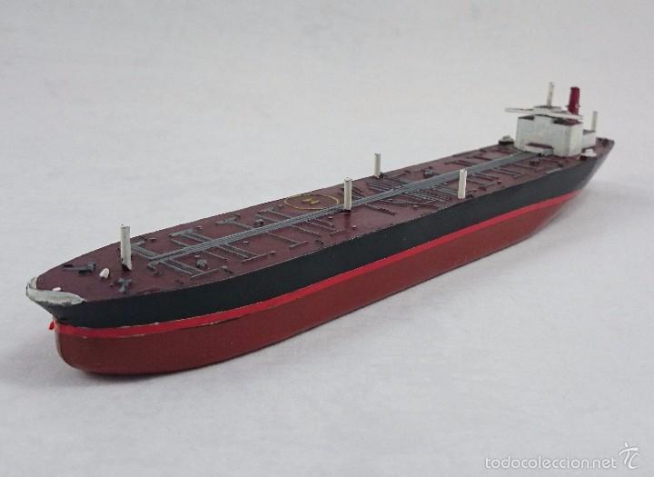 Maqueta de barco petrolero construido por astil comprar - Antiguedades de barcos ...
