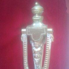 Antigüedades: LLAMADOR MODERNISTA EN BRONCE. Lote 58293295