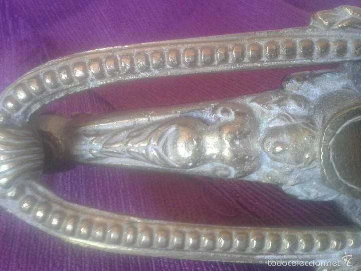 Antigüedades: Llamador modernista en bronce - Foto 3 - 58293295