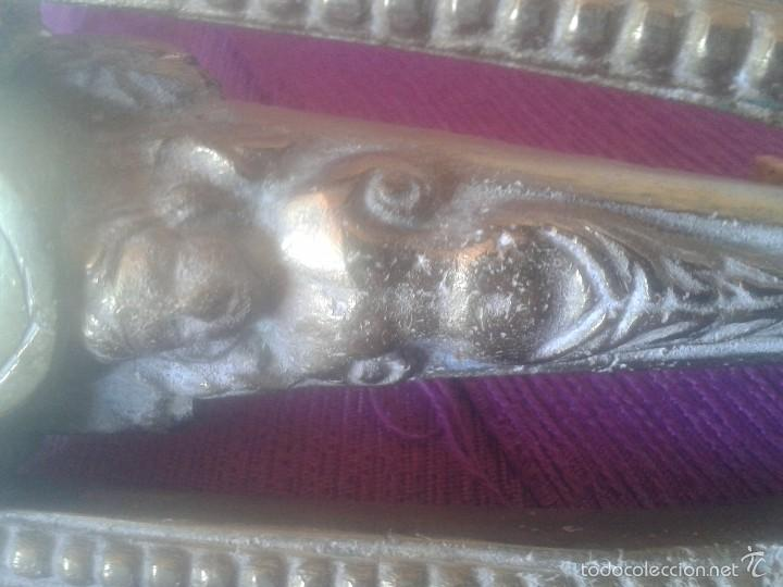 Antigüedades: Llamador modernista en bronce - Foto 4 - 58293295
