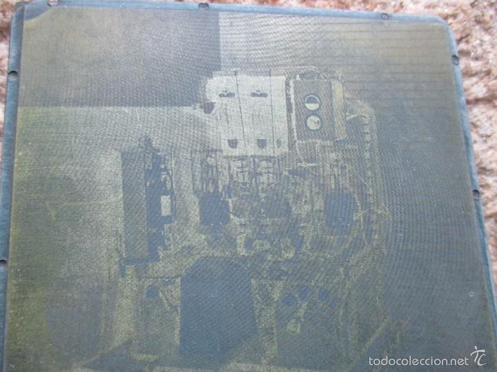 Antigüedades: ANTON BEIRAS. VIGO VIGOSCOPIO OFTALMOLOGIA ESTRABISMO - PLANCHA LITROGRAFICA + INFO - Foto 2 - 58302151