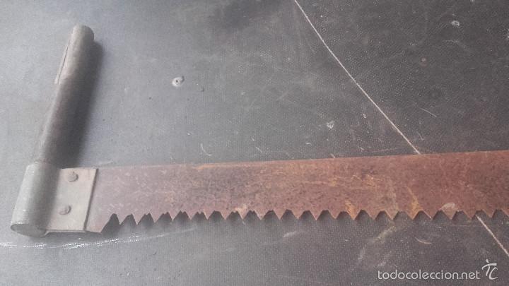 Antigüedades: Tronzador de madera - Foto 4 - 58339709
