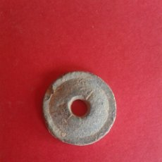 Antigüedades: ANTIGUA PESA DE PLOMO A IDENTIFICAR. 5,9 GRAMOS.. Lote 58347711