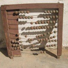 Antigüedades: ANTIGUO ABACO DE GRAN TAMAÑO PARA ESCUELA. Lote 58357612