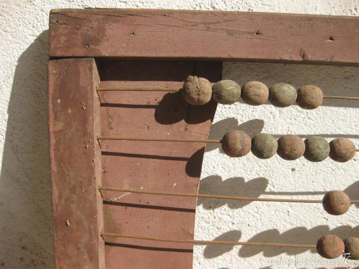 Antigüedades: ANTIGUO ABACO DE GRAN TAMAÑO PARA ESCUELA - Foto 2 - 58357612
