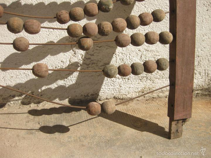 Antigüedades: ANTIGUO ABACO DE GRAN TAMAÑO PARA ESCUELA - Foto 3 - 58357612