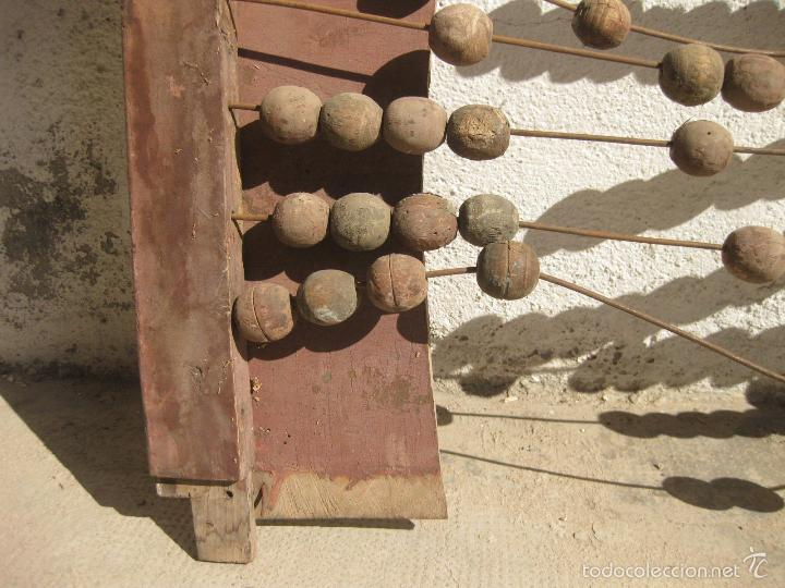 Antigüedades: ANTIGUO ABACO DE GRAN TAMAÑO PARA ESCUELA - Foto 4 - 58357612