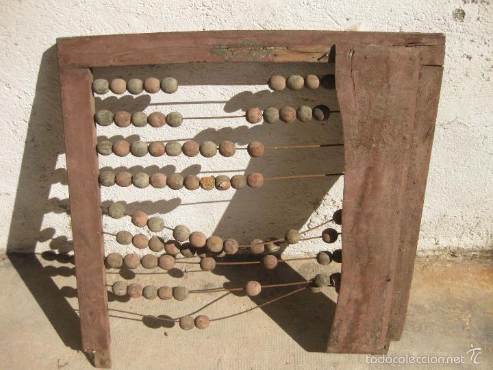 Antigüedades: ANTIGUO ABACO DE GRAN TAMAÑO PARA ESCUELA - Foto 5 - 58357612