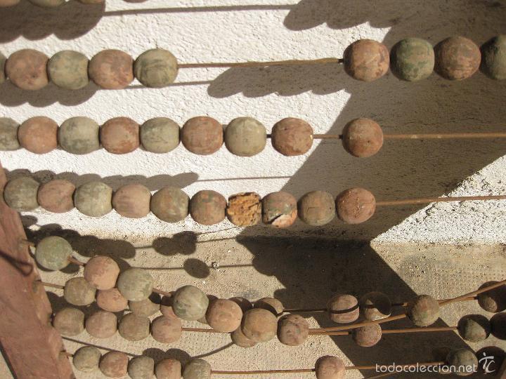 Antigüedades: ANTIGUO ABACO DE GRAN TAMAÑO PARA ESCUELA - Foto 6 - 58357612